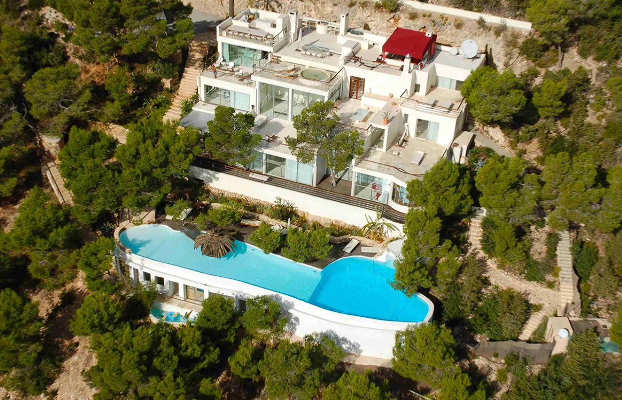 Villa Rock Star For Rent In Ibiza Ibiza Vip Area