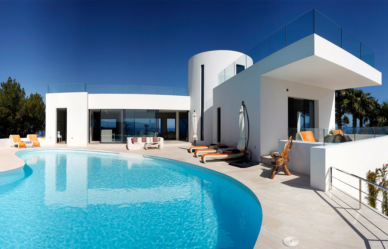 Villa bright for rent in ibiza ibiza vip area for Villas ibiza