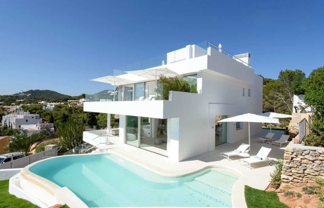 Villa talamanca for rent in ibiza ibiza vip area for Villas ibiza